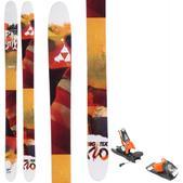 Fischer Big Stix 120 Skis w/ Look SPX 12 Dual WTR Bindings