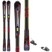 Fischer Hybrid 8.0 Skis w/ Tyrolia RX 12 Bindings