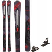 Fischer Hybrid 8.5 Ti Skis w/ Marker 10.0 TP Bindings