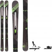 Fischer Hybrid 9.5 Ti Skis w/ Rossignol Axial3 120 Bindings