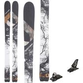 Fischer Watea 106 Skis w/ Marker Squire 11 ID Bindings