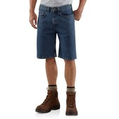 "Five-Pocket Denim Short - 10.5"" Inseam"