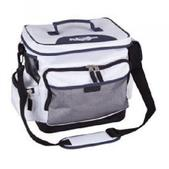 Flambeau Saltwater White Tackle Bag XLarge w/Spinnerbait Box/Tuff Tainers 6135SW