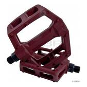 Flybikes Ruben Graphite Pedals Dark Red 9/16in