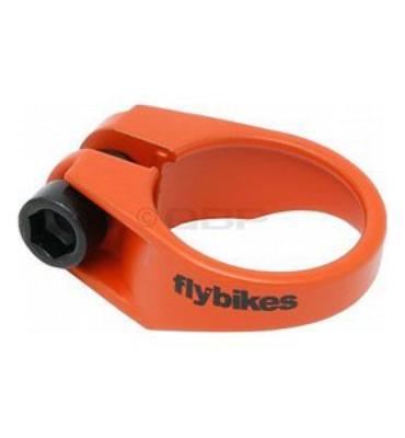 Flybikes Seat Clamp Flat Orange 28.6mm