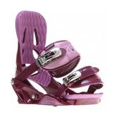 Forum Aura Snowboard Bindings Plum/Orchid
