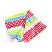 Forum Polka Stripe Bandana Blue - Womens