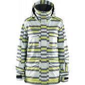 Foursquare Artisan Snowboard Jacket Ice Digitalized Stripe
