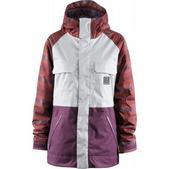 Foursquare Crush Snowboard Jacket Scrubs/Crossfade/Plaid Plum