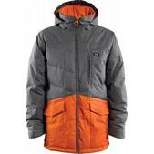 Foursquare Foreman Snowboard Jacket Cast Iron/Safety Orange