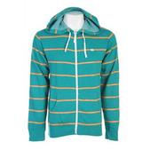 Foursquare Heather Stripe Hoodie Bali Heather Strp