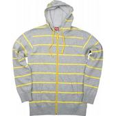 Foursquare Heather Stripes Hoodie Athletic Heather Stripes
