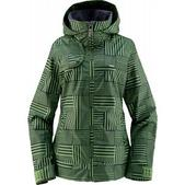 Foursquare Marissa Snowboard Jacket Gridlock Leaf
