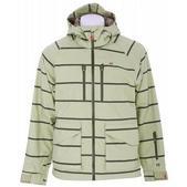 Foursquare Stevo Snowboard Jacket Rejuv Heather Stripes
