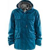 Foursquare Torque Snowboard Jacket Blue Print