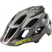 FOX RACING Flux Bike Helmet, Titanium