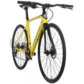 Framed Rodez Carbon Flat Bar Bike - Rival 1 & Alloy Wheels