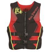 Full Throttle Rapid-Dry Flex Life Vest Red L 142500-100-040-15