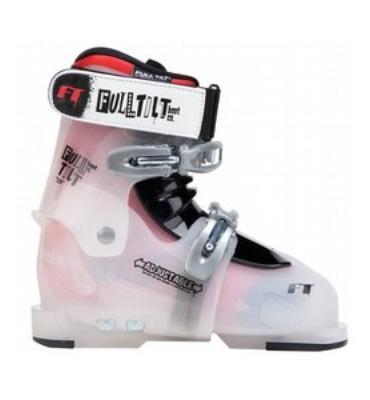 Full Tilt Growth Spurt Ski Boots Translucent Red