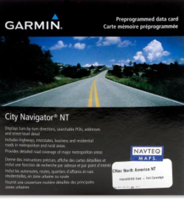 Garmin City Navigator microSD Data Card - North America NT 2012