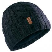 Gill Cable Knit Beanie Navy