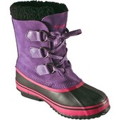 Girl's Lil Blizzards - Purple Rain Insulated Boot