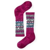 Girls' Wintersport Fairisle Moose Ski Socks