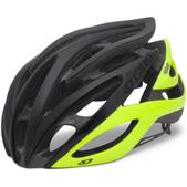 Giro Atmos Road Helmet Size M Color MatteBlack/HighlightYellow