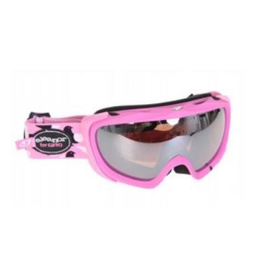 Giro Lyric Snowboard Goggles Matte Pink/Eleanor Birds/Rose Silver 23 Lens