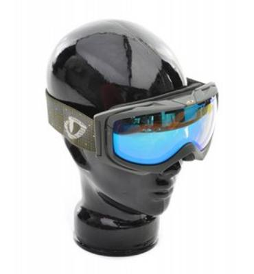 Giro Manifest Snowboard Goggles Olive Punchcard
