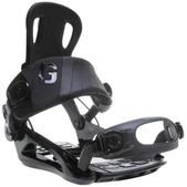 GNU Backdoor Snowboard Bindings Black