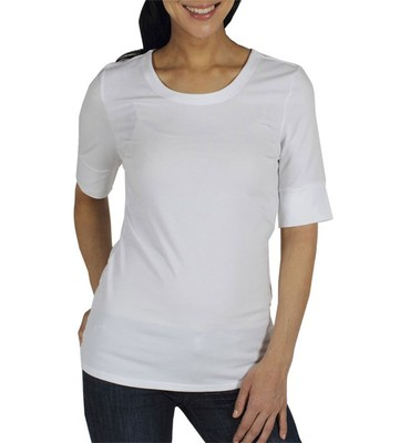 Go To Crew 1/2 Sleeve Shirt Womens