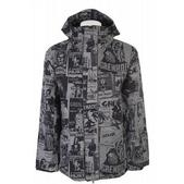 Grenade Manic Snowboard Jacket Army Flyer Grey/Black