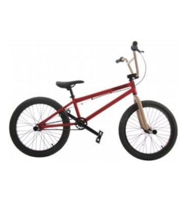 """Grenade MX BMX Bike 20"""" Electric Red/Tan"""
