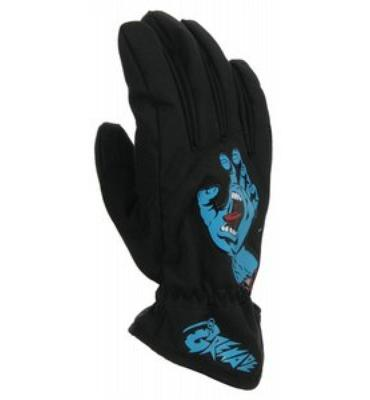 Grenade Screaming Hand Snowboard Gloves Black