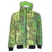 Grenade Skelter Full Zip Hoodie Green