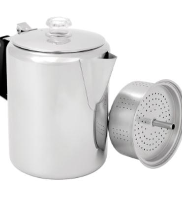 Gsi Outdoors Glacier Stainless 12 Cup Percolator