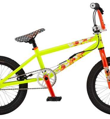 "GT EL Centro BMX Bike Vivid Yellow 16"""