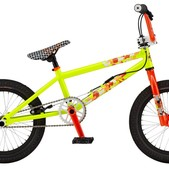 GT EL Centro BMX Bike Vivid Yellow 16""