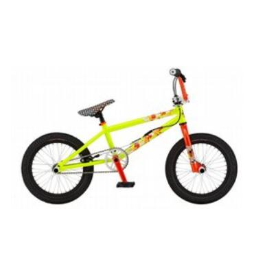 "GT El Centro Men'S BMX Bike Vivid Yellow 16"""