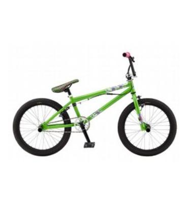 GT Zone BMX Bike Lime Green 20""