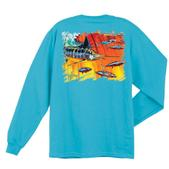 Guy Harvey Mens Hydro Long-Sleeve Tee