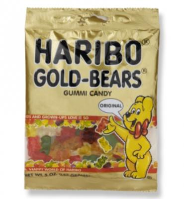 Haribo Gummi Bears - Large