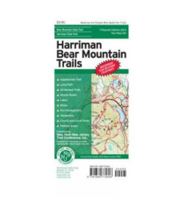 Harriman-Bear Mountain Trails Maps