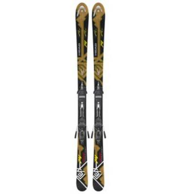 Head i.Peak 74 Skis w/ PR 11 Bindings Black Glossy