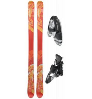 Head Monster IM 88 Skis w/ Mojo 12 Wide Bindings