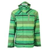 Holden Heath Snowboard Jacket Green Stripe