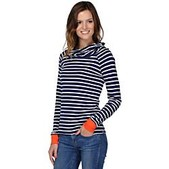 Horny Toad Womens Stripe Out Boat Twist Tee - New