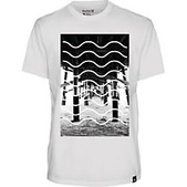 Hurley Mens Pier Waves Tee - Closeout