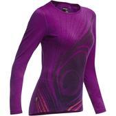 Icebreaker BodyFit 200 Oasis Crew Feather Shirt - Long-Sleeve - Women's